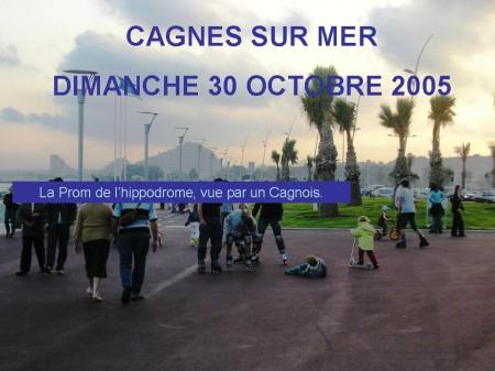 Cagnes-Sur-Mer: La nouvelle promenade de l'hippodrome