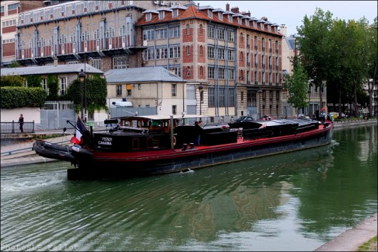 paris,canal st martin,photo
