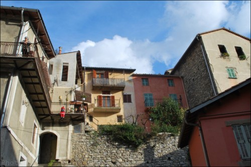 village,lucéram,alpes-maritimes,noël,photo