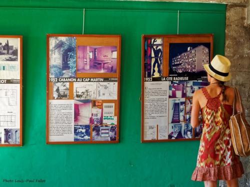 marseille,cité radieuse,le corbusier,felice varini,village,exposition,mamo