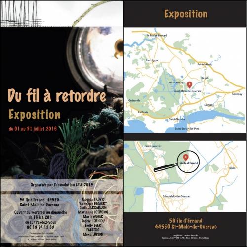 art,artistes,association,association lflp 2015,exposition,ile d'errand,st malo de guersac