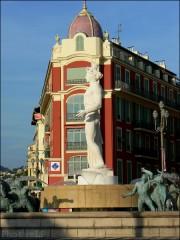 nice,photo,place masséna,apollon,fontaine du soleil