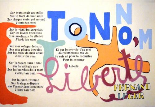 Autour du poème Liberté. Paul Eluard et Fernand Léger  (4).JPG