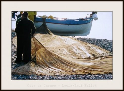 cros de cagnes,pêche locale,pêcheurs,pointu,poutine,photo;