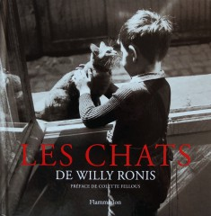 Couv - les chats de willy ronis.JPG