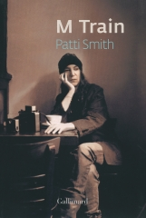 patti smith,m train,livre,photo,café 'ino