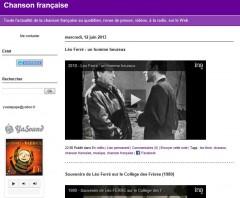 blogue,chanson française,yves le pape,léo ferré,ina